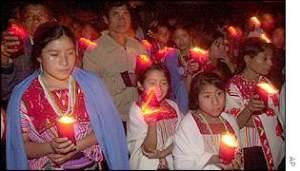 Vigilia aniversario. Fuente: BBCmundo.com